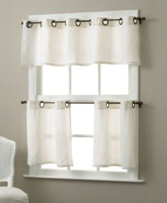 Elrene Home Fashions Essex Valance (Wheat) - 1