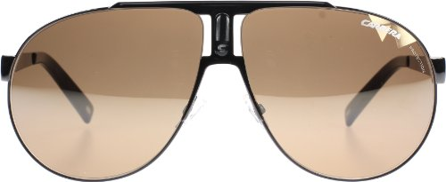Carrera Carrera VRW Black Panamerika 1 Aviator Sunglasses Lens Category 3 Lens Mirrored