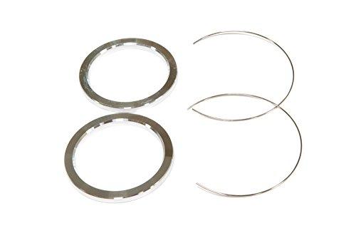 [해외]SSR 휠 알루미늄 허브 반지 (쌍) 64.1mm ID PARTS230에 79.5mm의 OD/SSR Wheels Aluminum Hub Rings (Pair) 79.5mm OD to 64.1mm ID PARTS230