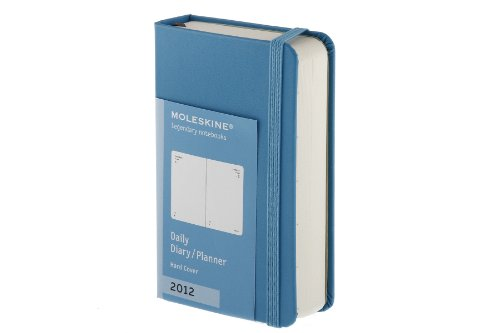 Moleskine 2012 12 Month Daily Planner Sky Blue 