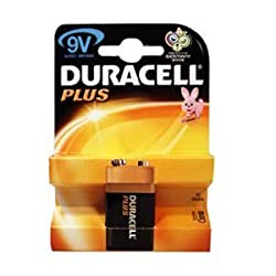 Duracell MN1604PLUS-B1 Alkaline 9V Size Battery by Duracell