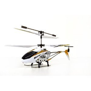 NEW White Syma S107G 3 Channel RC Radio Remote Control Helicopter with Gyro