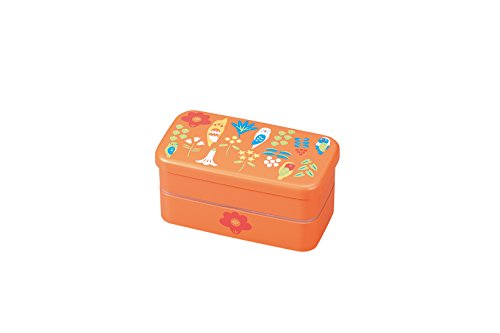 hakoya double layer bento lunch box kotoritachi parakeet. Black Bedroom Furniture Sets. Home Design Ideas