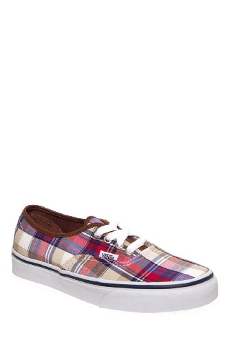 Vans Unisex Authentic Plaid Sneaker