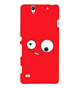 PRINTSHOPPII SMILEY Back Case Cover for Sony Xperia C4 Dual E5333 E5343 E5363::Sony Xperia C4 E5303 E5306 E5353