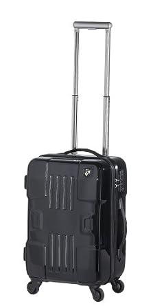 Heys USA Luggage Forza 20.5 Inch Hard Side Carry On Suitcase, Black, One Size