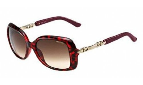 Jimmy Choo Jimmy Choo Wiley/S 0BMH JD Havana Burgundy
