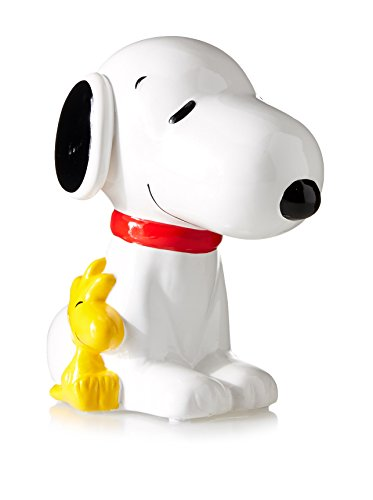 Snoopy and Woodstock Ceramic Bank