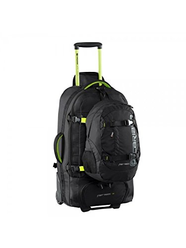 Caribee Fast Track 75 Backpack Trolley in Black - Grand Voyager Pour Le Monde