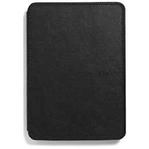 Amazon Kindle Touch Leather Cover, Black