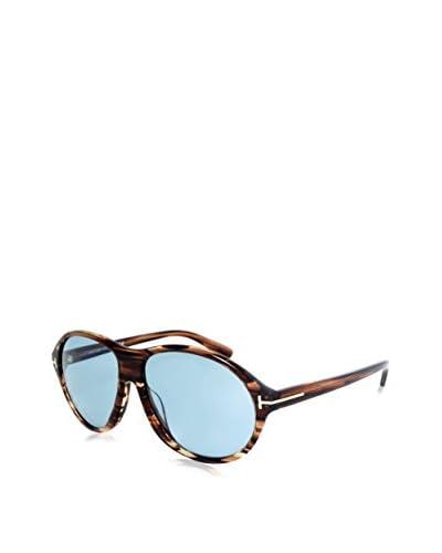 Tom Ford Gafas de Sol Ft398 50J 60 (60 mm) Marrón / Azul Claro