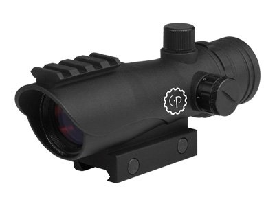 CenterPoint Optics 72607 Large Battle Sight 1x30mm Enclosed Reflex with Red Dot by Greys Distribution