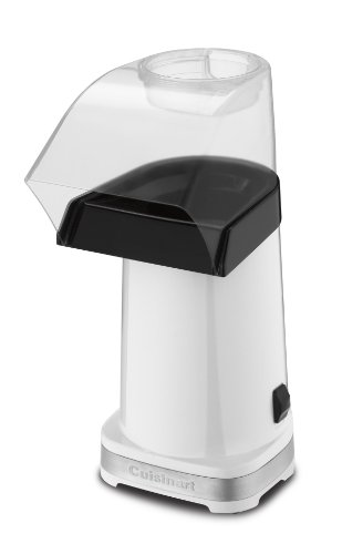 Cuisinart CPM-100W EasyPop Hot Air Popcorn Maker, White (Hot Oil Popcorn Machine compare prices)