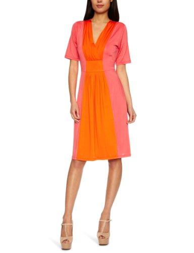 Fever Brancusi Empire Women's Dress Pink/ Orange
