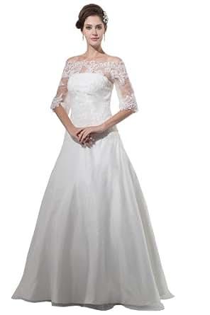 Herafa Wedding Dress Elegant NOw35120 Amazon Fashion