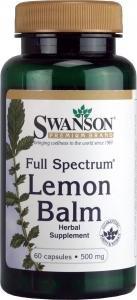 swanson-lemon-balm-500mg-60-capsules