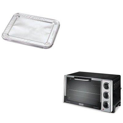 Kitdloro2058Hfa204930 - Value Kit - 1/2-Sz Foil Steam Lid Fits 320/321/328/346/201 (Hfa204930) And Delonghi Convection Oven W/Rotisserie (Dloro2058)