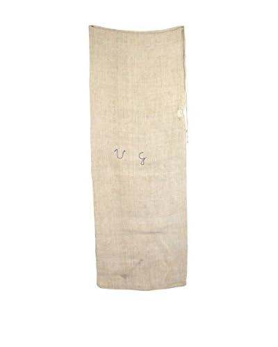 Uptown Down Eastern European Vintage Seed Bag, Tan