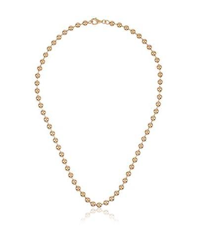 Yocari Collana argento 925 bagnato oro
