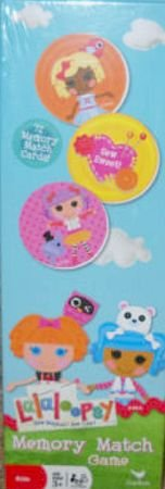 Lalaloopsy Memory Match Game - 72 Cards