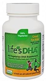 Martek Life's DHA Omega-3 DHA 100mg 90 All-vegetarian Softgels Kids