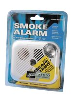 Pike & Co. Logic BATTERY OPERATED SMOKE ALARM WITH LIGHT [Pack of 1] from Pike & Co. Logic Inspire