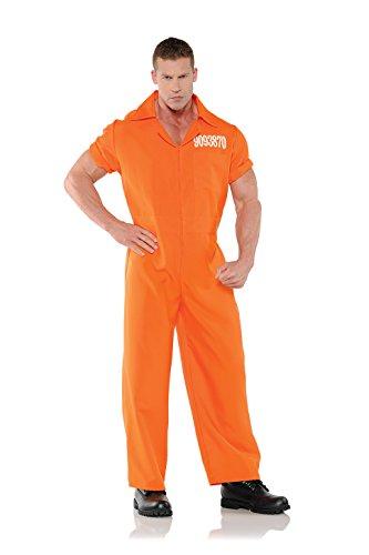 Men's Prisoner Costume - Convicted (Jailbird Adult Costume)