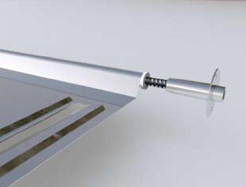 Scolapiatti da Incasso Inox per pensili da cm.95