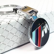 BMW M power Style Key Chain Fashion Car Accessories Silver Red Blue 2016 by Keychain (1995 Bmw 325i Emblem compare prices)