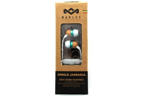 House Of Marley Em-Je040-Mn Smile Jamaica Mint In-Ear Headphones