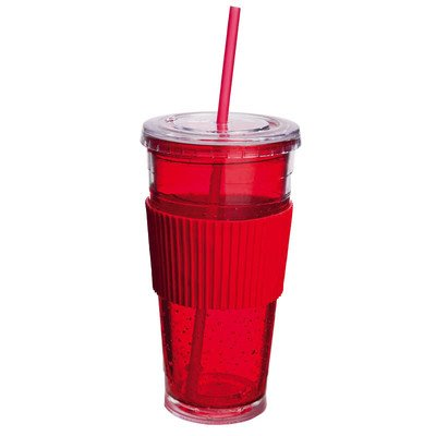 Freezeable Insulated Cup Color: Red front-863518