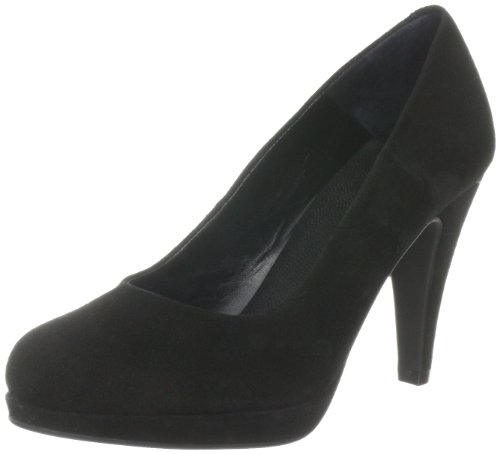 SELECTED FEMME NINA HIGH HEEL SUEDE Pumps Womens Black Schwarz (Black) Size: 3.5 (36 EU)
