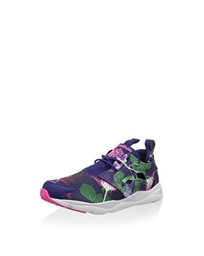 Reebok Sneaker Furylite Graphic blau/grün/pink