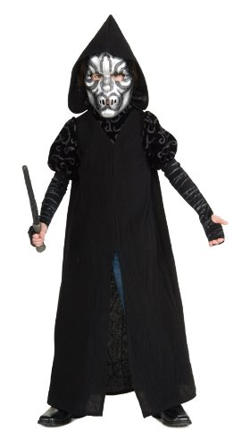 Harry Potter Deluxe Child Death Eater Costume front-476684