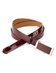 M&S Collection Plaque Buckle Belt