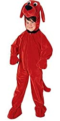 Rubie's Costume Co Clifford The Big Red Dog Jumpsuit Child Costume by Forum Novelties