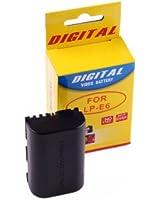 CrazyCable® Batterie de rechange de haute capacité pour Canon LP-E6 pour appareil numérique, compati