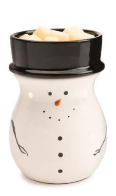 Candle Warmers Etc. Holiday Illumination Fragrance Warmer, Snowman