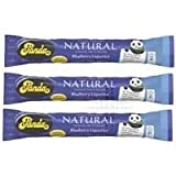 THREE PACKS of Panda Blueberry Licorice Bar