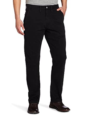 Levi's Men's Light Weight Straight Leg Trouser Jean, Black, 33x32