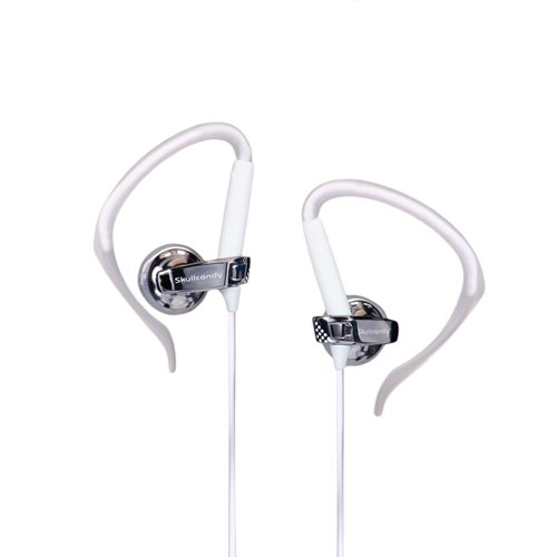 Skullcandy Chops Hanger Earbuds - Grey and White
