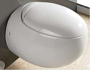 wellness design toilette h nge wc klo sett frei stehend. Black Bedroom Furniture Sets. Home Design Ideas