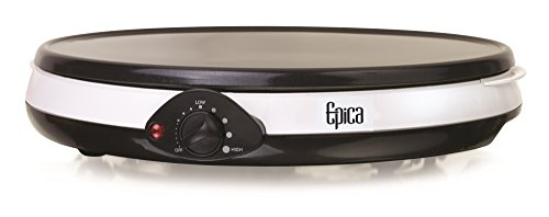 "Review Epica 12"" Nonstick Electric Griddle & Crepe Maker, Also Great for Pancakes, Flatbrea..."