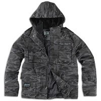 CCS Deluxe 3 in 1 Field Jacket - Men's ( sz. L, Black Camo )