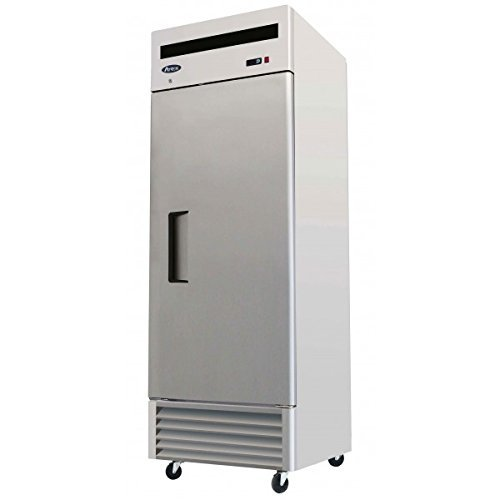 Atosa USA MBF8505 Series Stainless Steel 27-Inch One Door Upright Refrigerator - Energy Star Rated