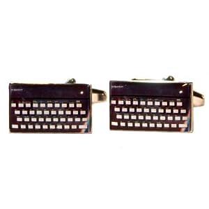 Retro Computer Keyboard Cufflinks