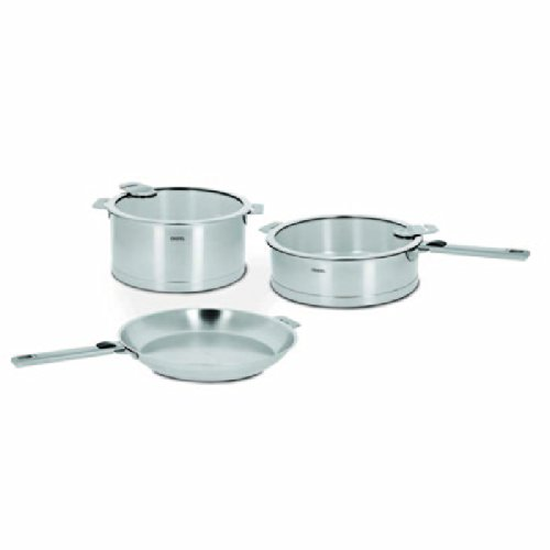 Cristel Strate 7-Piece Stainless Steel Cookware Set