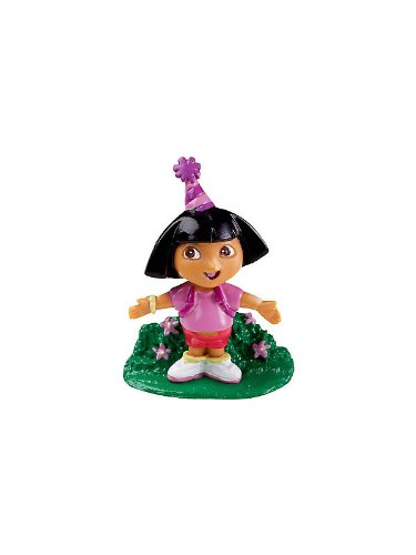 Dora The Explorer Cake Toppers (6-pack) - 1