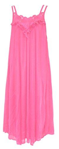 Nylon Gown 266 Rose LG