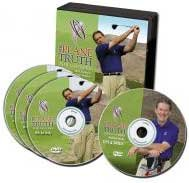 The Plane Truth for Golfers 3 DVD set plus Tips and Drills